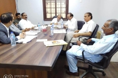 A-meeting-of-Technical-consultative-committee-of-National-Fund-for-Mohanjo-Daro